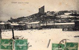 612Go  26 Crest Sous La Neige - Crest