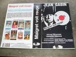 """Rare Film : """" Maigret Voit Rouge """" - Policiers"""