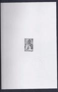 Belgie - Belgique ZNE7 - Velletje Uit Tentoonstellingscatalogus Relifil - 2166 - Paus Johannes Paulus II