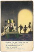 Old King Cole - Dixons Nursery Rhyme First Series - Unused - Fairy Tales, Popular Stories & Legends