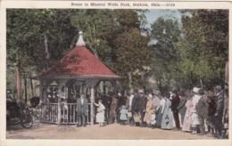 Oklahoma Guthrie Scene In Mineral Wells Park - Guthrie