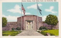 Oklahoma Bartlesville Woolaroc Museum Frank Phillips Ranch Curteich - Bartlesville