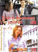 LOT 2 CPM TCL PUBLICITE ABONNEMENT EDIT. CARTE A PUB - Schienenverkehr