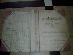 Vieux Papiers Protege Cahier Le  Necessaire ** Annee 20.? - P