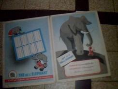 Vieux Papiers Protege Cahier The Elephant - Buvards, Protège-cahiers Illustrés