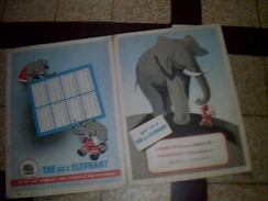 Vieux Papiers Protege Cahier The Elephant - Löschblätter, Heftumschläge