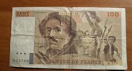 1993 - France - CENT FRANCS, Delacroix, R.210 5241622799 - 100 F 1978-1995 ''Delacroix''