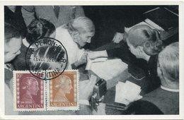 17287 Argentina, Maximum 1955,  Famous Woman :  Eva Peron - Famous Ladies