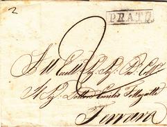 Da Prato A Ferrara  Del 26 Giugno 1815 - Poste