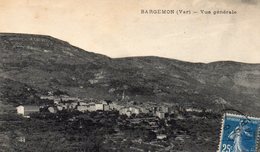 612Go  83 Bargemon Vue Generale - Bargemon