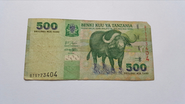 TANZANIA 500 SHILINGI - Tanzanie