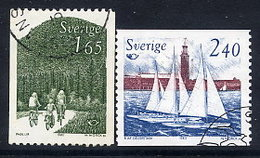 SWEDEN 1983 Nordic Countries Tourism Used.  Michel 1230-31 - Sweden