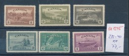 Kanada  Nr.235-40     **    (se1275  ) Siehe Scan - Neufs