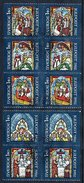 SWEDEN 1982 Christmas Set Of 5 Pairs Used.  Michel 1209-13 - Sweden