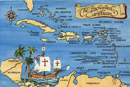 MAPS - THE ENCHANTED CARIBBEAN - Maps