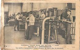 Compagnie Franco-belge Des Crayons PARIS Salle De L'arrondissage - Commercio