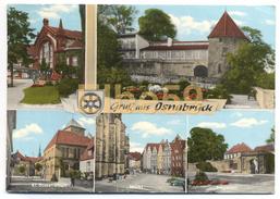 Osnabrück (Niedersachsen), AK, Multiview, Gruß Aus, Wappen, Gelaufen - Osnabrueck
