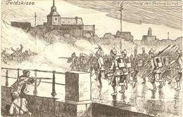 FELDSKIZZE  --   Die Erstürmung Der Festung Lüttich - Guerre 1914-18
