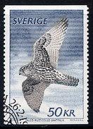 SWEDEN 1981 50 Kr. Gyrfalcon Used.  Michel 1140 - Sweden