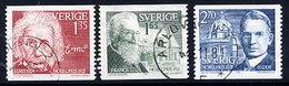 SWEDEN 1981 Nobel Prizewinners Used.  Michel 1175-77 - Sweden
