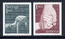 SWEDEN 1980 Social Welfare MNH / **.  Michel 1103-04 - Sweden