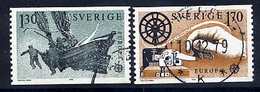 SWEDEN 1979 Europa: History Of The Post, Used.  Michel 1058-59 - Sweden