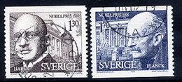 SWEDEN 1978 Nobel Prizewinners Used.  Michel 1051-52 - Sweden