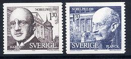 SWEDEN 1978 Nobel Prizewinners MNH / **.  Michel 1051-52 - Sweden
