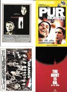 LOT 4 CPM CINEMA FILMS ACTEURS DEPARDIEU  NACERI  WOODY ALLEN   URANUS PARTI COMMUNISTE - Posters On Cards