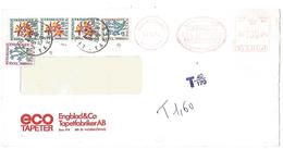 LETTRE  TAXEE POUR DEFAUT D'AFFRANCHISSMENT 1977 - Postmark Collection (Covers)