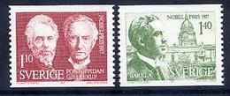 SWEDEN 1977 Nobel Prizewinners MNH / **.  Michel 1014-15 - Sweden