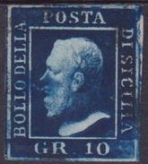 ASI SICILIA 10 Gr. N.12 Usato - Sicile
