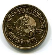 1994 KItchener-Waterloo Canada Oktoberfest $2 Token - Monetary /of Necessity