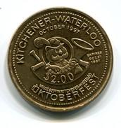 1997 KItchener-Waterloo Canada Oktoberfest $2 Token - Monetary /of Necessity