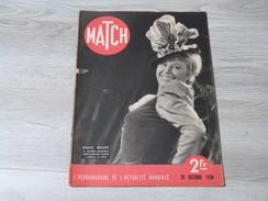 MATCH 20/10/1938. GRETA GARBO. ALERTE SUR LA LIGNE MAGINOT. CARNETS INTIMES DE BRIAND. - Français