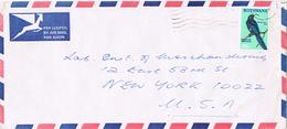20990. Carta Aerea BOTSWANA 1975 To USA. Bird - Botswana (1966-...)