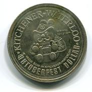 1974 KItchener-Waterloo Canada Oktoberfest $1 Token - Monetary /of Necessity