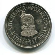 1975 KItchener-Waterloo Canada Oktoberfest $1 Token - Monetary /of Necessity