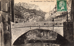612Go  13 Roquevaire Le Vieux Pont (vue Pas Courante) - Roquevaire