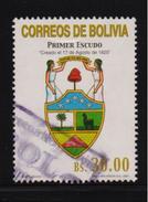 Bolivia 2001, Minr 1469, Vfu. Cv 20 Euro, Stamp Has A Small Wrinkle - Bolivie