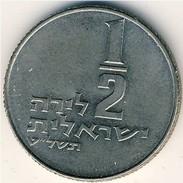 Israel - 1979 - 1/2 Lirah - KM 36.1 - VF - Israel