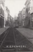 ANTWERPEN 1971 AANLEG TRAMBEDDING LANGE NIEUWSTRAAT / TRAM 2115 EN AMI 8 / Agfa Foto - Antwerpen