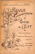 VP7436 - N° 261 De La Revue Cynégétique & Canine De L'Est - Journal Des Chasseurs & Des Amateurs De Chiens De Race - Books, Magazines, Comics