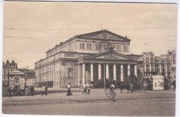 Russia 1919 Moscow, Bolshoi Theatre Theater Teatro, Sent To Finland Pori - Russland