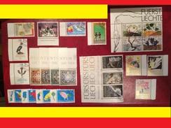 Liechtenstein > 1991-00 > Oblitérés / Jahrgang 1994 Gestempelt 1079-1102, Komplett - Liechtenstein