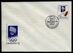 A4416) Litauen FDC Olympia Lillehammer 2.12.1994 - Winter 1994: Lillehammer