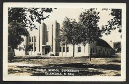 ELLENDALE Carte Photo Public School Gymnasium U.S.A. (ND) - Autres