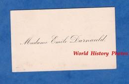 Carte De Visite Ancienne - BAR LE DUC ( Meuse ) - Madame Emile DARNAULD ( Négociant ) - Vers 1900 - Cartes De Visite