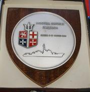 ITALIA - CREST ARALDICO MOSTRA NAVALE GENOVA 1978 - Marine