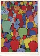 Patrick Caulfield : Pottery Circa 1969 (huile Sur Toile) Tate Gallery - Peintures & Tableaux
